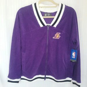 NBA Women's LA Lakers Warm-Up Jacket Sizes S/L